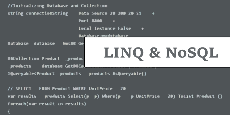 Linq and nosql database
